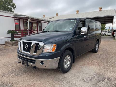 2018 Nissan NV Passenger for sale at M & M Motors in Angleton TX