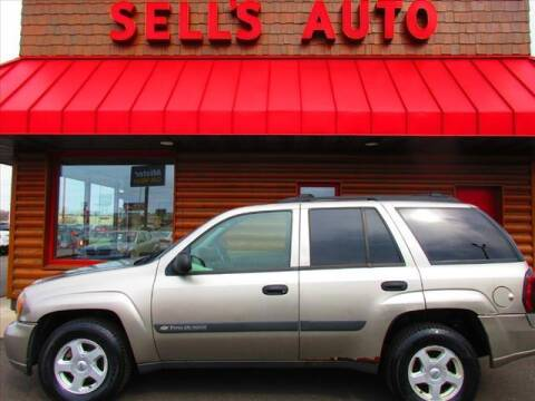 2003 Chevrolet TrailBlazer for sale at Sells Auto INC in Saint Cloud MN