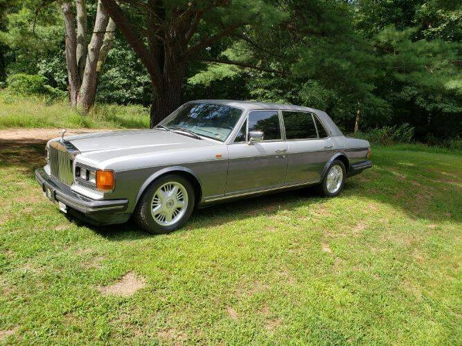 1990 Rolls-Royce Silver Spur for sale at Classic Car Deals in Cadillac MI