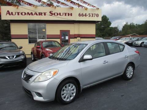 2012 Nissan Versa for sale at Automart South in Alabaster AL