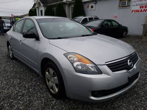 2008 Nissan Altima for sale at Reyes Automotive Group in Lakewood NJ