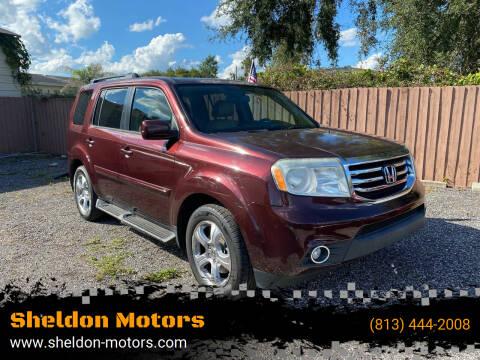 2013 Honda Pilot for sale at Sheldon Motors in Tampa FL