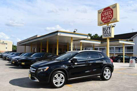 2017 Mercedes-Benz GLA for sale at Houston Used Auto Sales in Houston TX