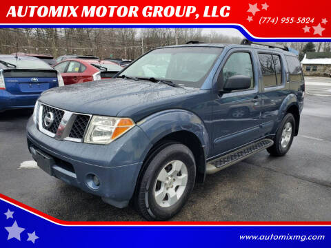 2005 Nissan Pathfinder for sale at AUTOMIX MOTOR GROUP, LLC in Swansea MA