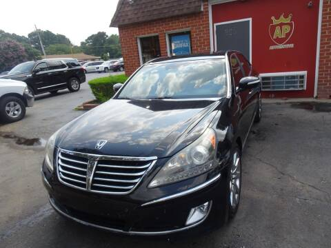 2013 Hyundai Equus for sale at AP Automotive in Cary NC
