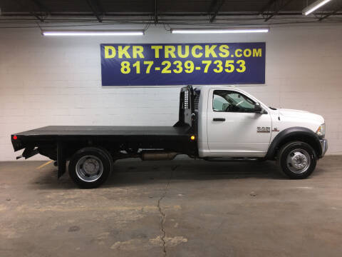 2014 Dodge RAM 4500 REG CAB 4X4 NEW12ft F for sale at DKR Trucks in Arlington TX