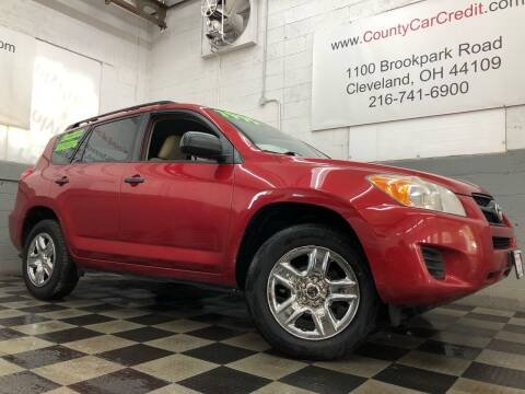 2010 Toyota RAV4 for sale at County Car Credit in Cleveland OH