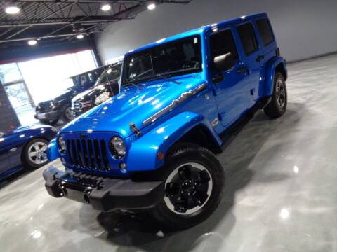 2014 Jeep Wrangler Unlimited for sale at Auto Experts in Utica MI