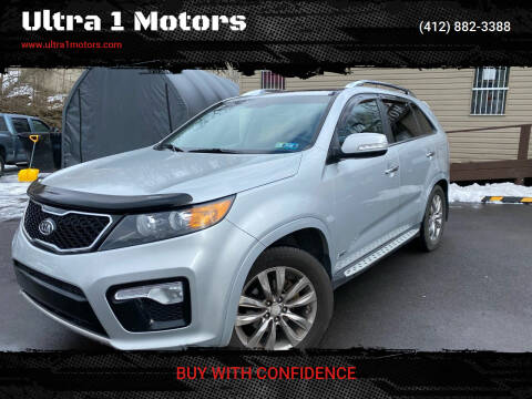 2013 Kia Sorento for sale at Ultra 1 Motors in Pittsburgh PA