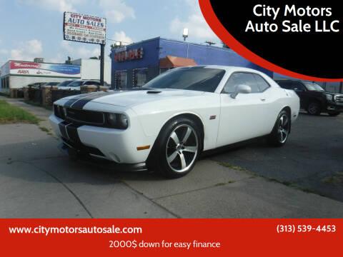 2013 Dodge Challenger for sale at City Motors Auto Sale LLC in Redford MI