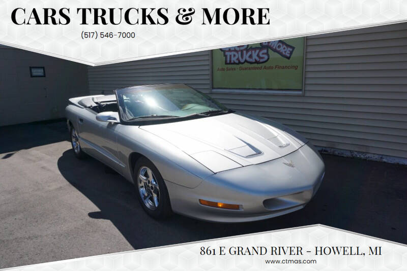 1997 Pontiac Firebird for sale at Cars Trucks & More in Howell MI