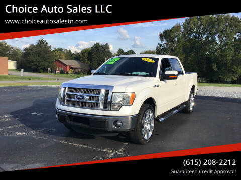 2012 Ford F-150 for sale at Choice Auto Sales LLC - Cash Inventory in White House TN