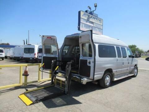 2010 Ford E-Series Wagon for sale at Atlantis Auto Sales in La Puente CA