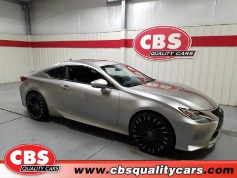 2015 Lexus RC 350 for sale at CBS Quality Cars in Durham NC