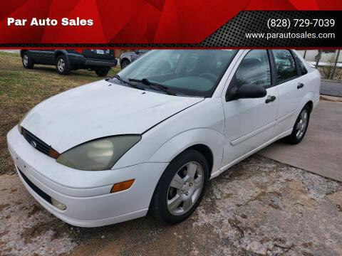 2003 Ford Focus for sale at Par Auto Sales in Lenoir NC