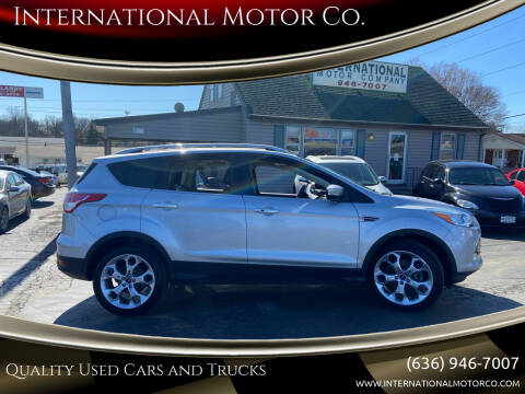 2014 Ford Escape for sale at International Motor Co. in St. Charles MO