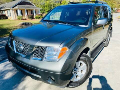 2006 Nissan Pathfinder for sale at Cobb Luxury Cars in Marietta GA