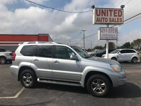 2009 Lexus GX 470 for sale at United Auto Sales in Oklahoma City OK