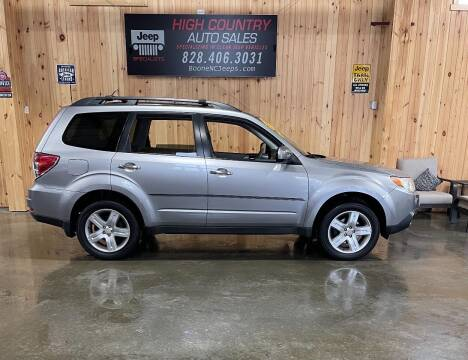2009 Subaru Forester for sale at Boone NC Jeeps-High Country Auto Sales in Boone NC