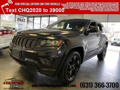 2015 Jeep Grand Cherokee for sale at CERTIFIED HEADQUARTERS in St James NY