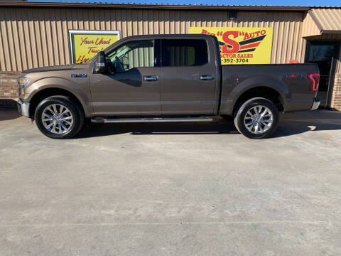 2016 Ford F-150 for sale at BIG 'S' AUTO & TRACTOR SALES in Blanchard OK