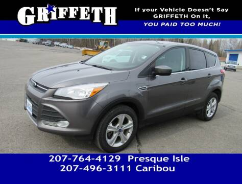 2013 Ford Escape for sale at Griffeth Mitsubishi - Pre-owned in Caribou ME