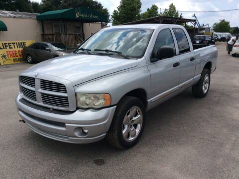 2005 Dodge Ram Pickup 1500 for sale at OASIS PARK & SELL in Spring TX