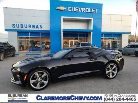 2018 Chevrolet Camaro for sale at Suburban Chevrolet in Claremore OK