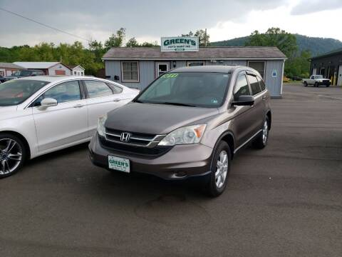 2011 Honda CR-V for sale at Greens Auto Mart Inc. in Wysox PA
