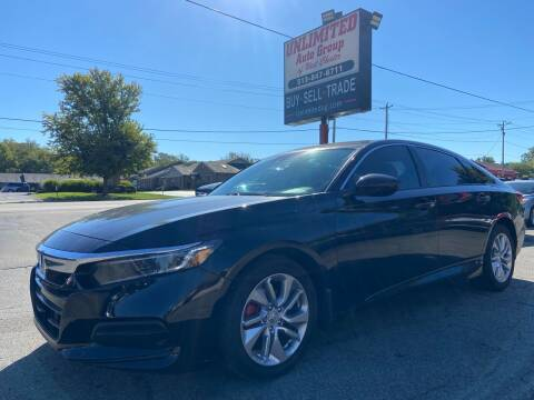 2020 Honda Accord for sale at Unlimited Auto Group in West Chester OH