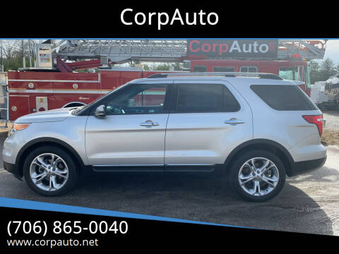 2012 Ford Explorer for sale at CorpAuto in Cleveland GA