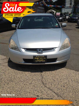 2005 Honda Accord for sale at Rallye  Motors inc. in Newark NJ