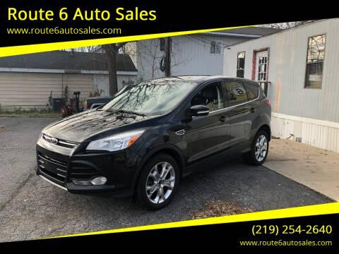 2013 Ford Escape for sale at Route 6 Auto Sales in Portage IN