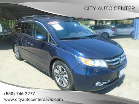 2014 Honda Odyssey for sale at City Auto Center in Davis CA