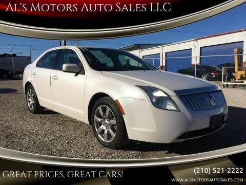 2011 Mercury Milan for sale at Al's Motors Auto Sales LLC in San Antonio TX