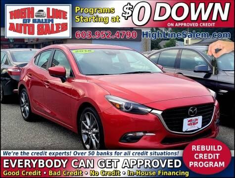 2018 Mazda Mazda3 Hatchback for sale at High Line Auto Sales of Salem in Salem NH
