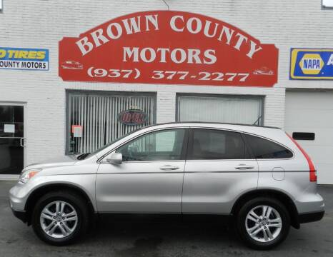 2010 Honda CR-V for sale at Brown County Motors in Russellville OH