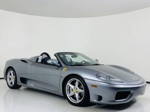 2002 Ferrari 360 Spider for sale at Luxury Auto Collection in Scottsdale AZ