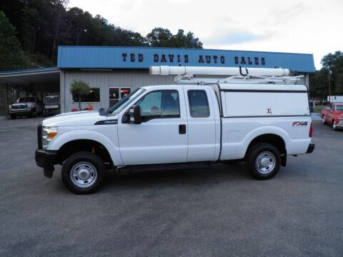 2013 Ford F-250 Super Duty for sale at Ted Davis Auto Sales in Riverton WV