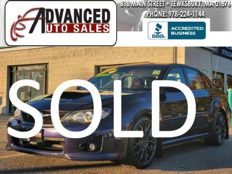 2011 Subaru Impreza for sale at Advanced Auto Sales in Tewksbury MA
