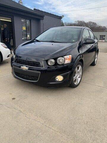 2015 Chevrolet Sonic for sale at Martell Auto Sales Inc in Warren MI