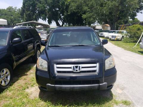 2008 Honda Pilot for sale at Webb's Automotive Inc 11 in Morehead City NC