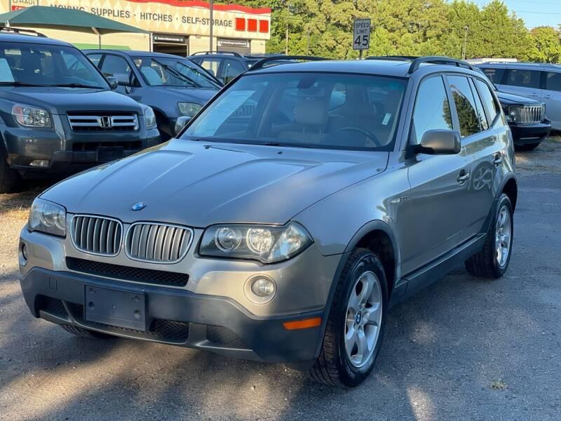 2007 BMW X3 for sale at Atlantic Auto Sales in Garner NC