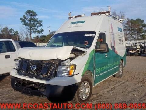 2015 Nissan NV Cargo for sale at East Coast Auto Source Inc. in Bedford VA