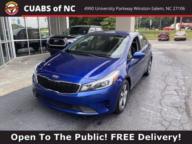 2018 Kia Forte for sale at Summit Credit Union Auto Buying Service in Winston Salem NC