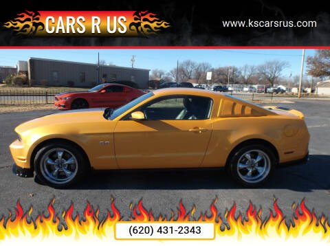 2012 Ford Mustang for sale at Cars R Us in Chanute KS