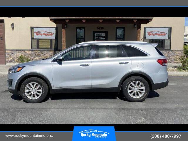2017 Kia Sorento for sale at Rocky Mountain Motors in Idaho Falls ID