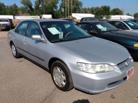 1998 Honda Accord for sale at L & J Motors in Mandan ND