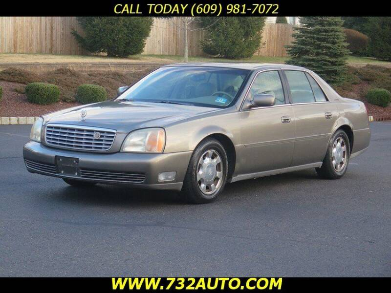 2001 Cadillac DeVille for sale at Absolute Auto Solutions in Hamilton NJ