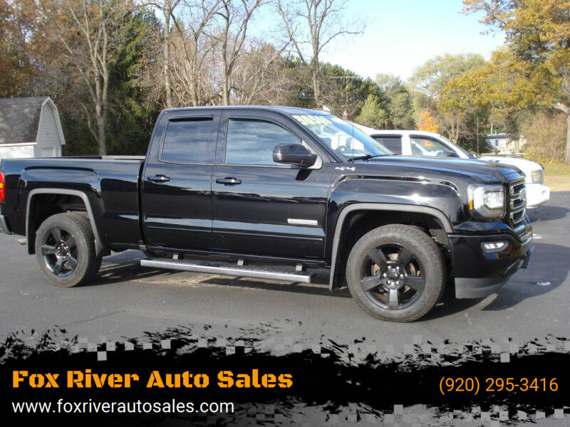 2017 GMC Sierra 1500 for sale at Fox River Auto Sales in Princeton WI